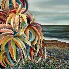 David McKay  Coastal Succulent, 2018