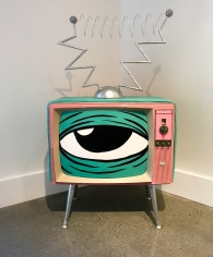 Lee McConnell  A TV Never Watched You 2019 Lone Goat Gallery