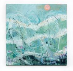 Andjana Pachkova  Byron Dreaming, 2019  Acrylic, oil pastels and charcoal on Belgian linen