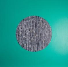 Charmaine Davis  Smoking Ceremony, 2020  Acrylic on canvas  92h x 92w cm artwork