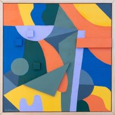 Greg Hodgson  Polarized islands, 2019 art