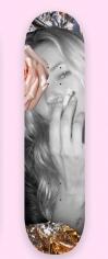 Michael Stiegler  An English Rose (Pink) Dina Broadhurst x Michael Stiegler X Kate Moss Colab, 2019 skateboard