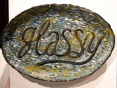 Gerry Wedd  Glassy Platter, 2018