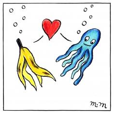 Matthew Martin  Banana & Octopus, 2011