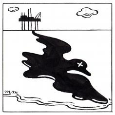 Matthew Martin  Oil Spill, 2018