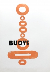 Hannah Cutts  Buoys Typography, 2020  Letterpress