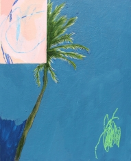 Nikky Morgan-Smith  What I Thought A Palm Tree Looked Like, 2019 Artwork