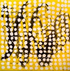 Richard Goodwin  Dreaming Mathematics, 2019  Acrylic and charcoal on canvas