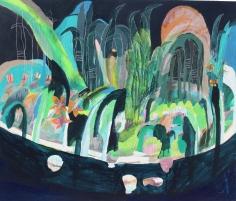 Nikky Morgan-Smith  Mele Falls, Looking at The Moon, 2019 Artwork