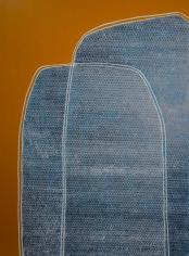 Charmaine Davis  Landscapes of Home I, 2020  Acrylic on canvas  120h x 90w cm artwork