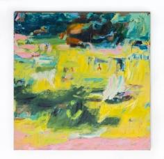 Andjana Pachkova  Mullumbimby Dreaming, 2019  Acrylic, oil pastels and charcoal on Belgian linen