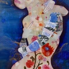 Wendy Arnold  Embrace, 2018  Acrylic on canvas