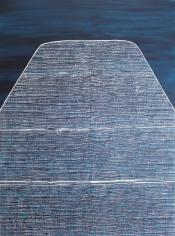 Charmaine Davis  Coming Home I, 2020  Acrylic on canvas  76h x 76w cm artwork