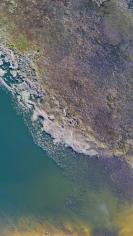 Stu Murphy, Hiawatha, 2019, Aerial photo of wetlands near Grafton NSW