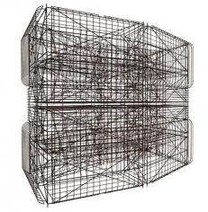 Pablo Siquier, 1308, carbon steel structure (artist's rendering), 2013.