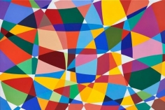 Graciela Hasper, Sin Titulo, 2013. Acrylic on canvas, 53 in. x 77 in.