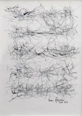 León Ferrari, Sin Título, 1977. Ink on paper, 9 7/16 x 6 17/32 in. (24 x 16.6 cm.)