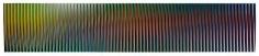 Physichromie Panam, 2011, Chromography on aluminum, 5' x 26 1/4' / 150 x 800 cm