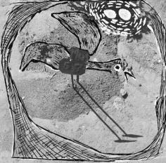 Geraldo de Barros, Cimetiere de Tatuape, 1949/2014. Silver gelatin print, 11 13/16 x 15 15/16 in.