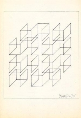 Hugo De Marziani, Untitled, 1965. Ink on paper, 22 x 19 cm.