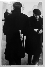 Robert Frank. New Year. 1950. (Man with Tulip.)