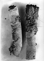 Irving Penn. Cigarette 17, New York, 1972.