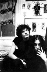 Lloyd Ziff, Robert Mapplethorpe and Patti Smith, Brooklyn, 1968.