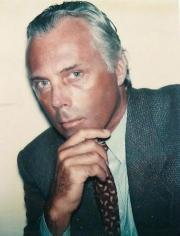 Andy Warhol. Giorgio Armani. 1981.