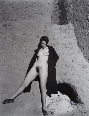 Nude, New Mexico, 1937.