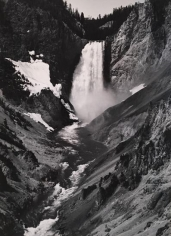Ansel Adams, 	Yellowstone Falls, Yellowstone National Park, Wyoming. 1942