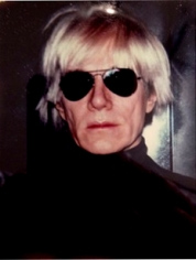 Andy Warhol, 	Self-Portrait in Fright Wig, 1986