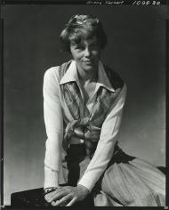 Amelia Earhart, 1931.