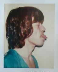 Andy Warhol, Mick Jagger, 1977