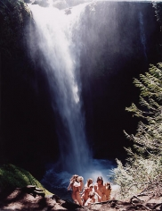 Justine Kurland, Waterfall Lesson, 2007, 30 x 40 in.