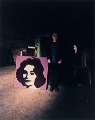 Evelyn Hofer. Andy Warhol & Liz.  New York.  1965.