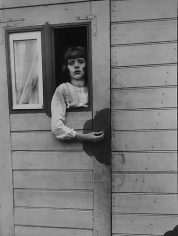 August Sander Girl in a Fairground Caravan.  c. 1930