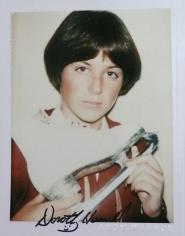 Dorothy Hamill, 1977.
