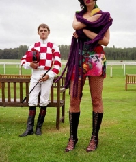 Jockeys (Purple Scarf), 2004