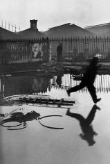 Henri Cartier-Bresson, Behind the Gare Saint Lazare. 1932.