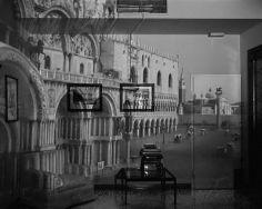 Abelardo Morell. Upright Camera Obscura Image of the Piazzetta San Marco Looking Southeast in Office, Venice.  2007 / printed 2009.