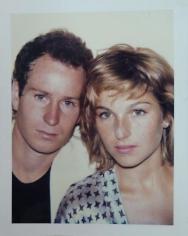 John McEnroe & Tatum O'Neal, 1985.