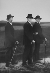 August Sander Young Farmers.  1914