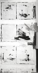 Studio 2, Rudolph Burckhardt, 8x10 inch Silver Gelatin Print