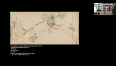 Ledger Drawings: Fort Marion and Beyond  Virtual Walk-through and Discussion