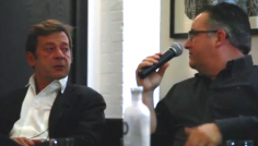 "OAF Talks 2014 - ""A conversation with Bruno Decharme and Antoine de Galbert"""