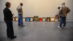 Installation of Flint Institute of Art