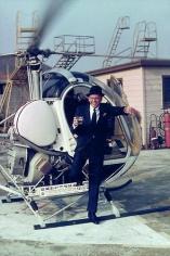 YUL BRYNNER Frank Sinatra, Hollywood, 1964