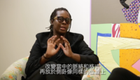 Mickalene Thomas in conversation with Cosim Costinas