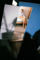 YUL BRYNNER Ingrid Bergman in Her Room on the Set of Anastasia, 1956