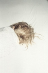 Lola sleeping, Italy, 1999